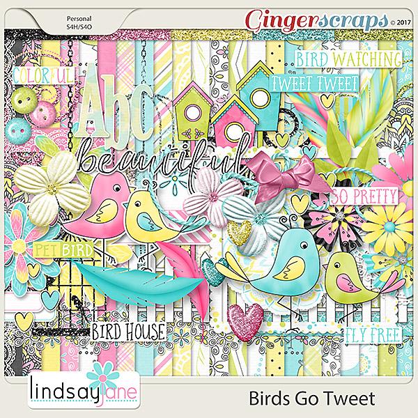 Birds Go Tweet by Lindsay Jane
