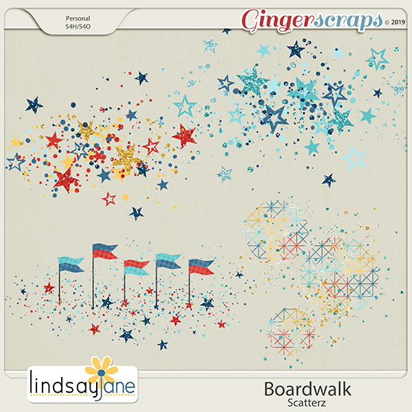 Boardwalk Scatterz by Lindsay Jane