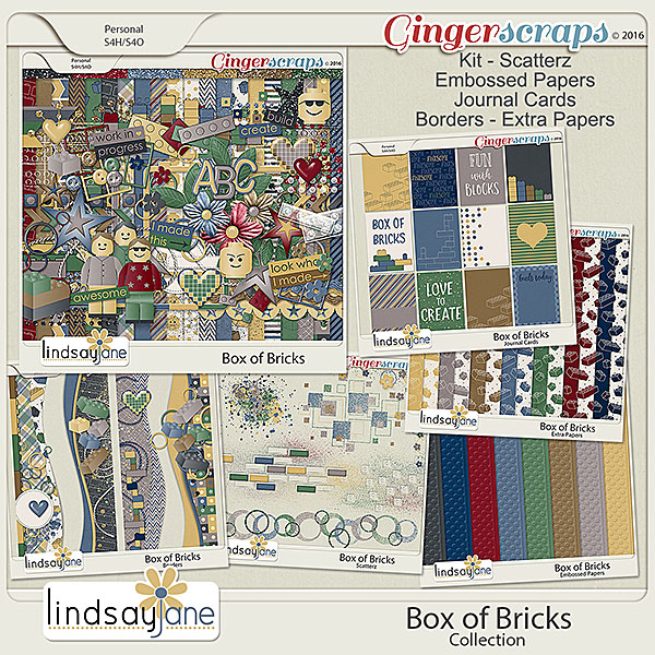 Box of Bricks Collection by Lindsay Jane