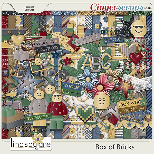 Box of Bricks by Lindsay Jane