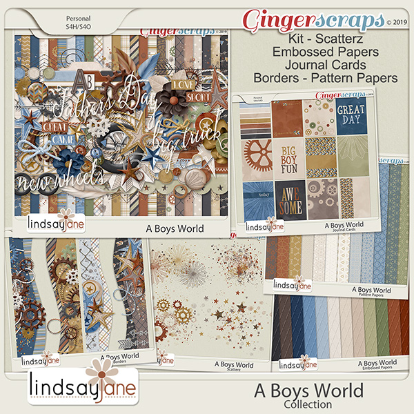 A Boys World Collection by Lindsay Jane