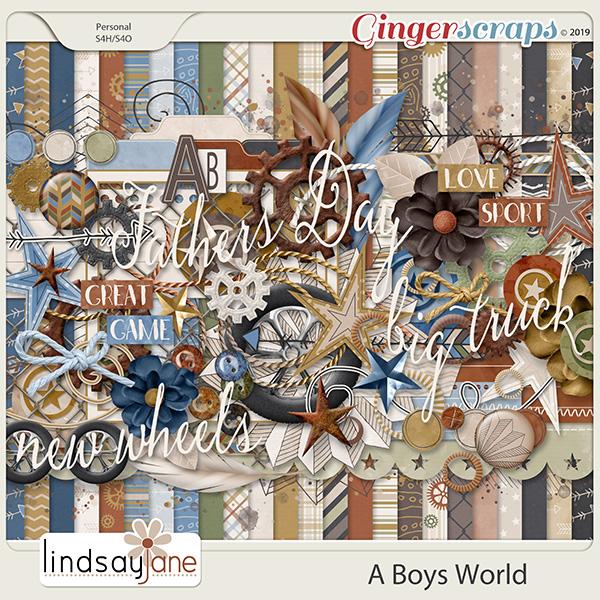 A Boys World by Lindsay Jane
