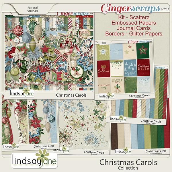 Christmas Carols Collection by Lindsay Jane