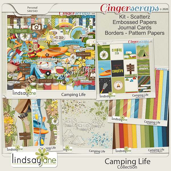 Camping Life Collection by Lindsay Jane