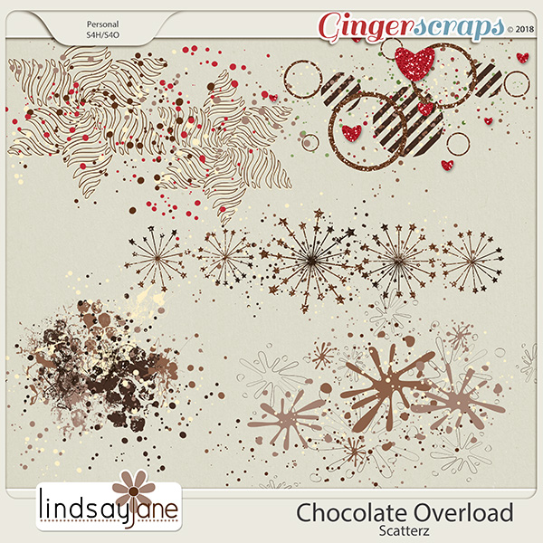 Chocolate Overload Scatterz by Lindsay Jane