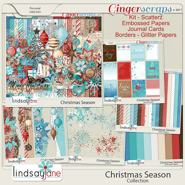 Christmas Season Collection by Lindsay Jane