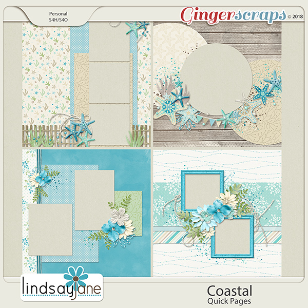 Coastal Quick Pages by Lindsay Jane