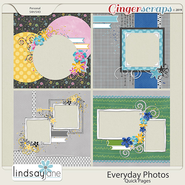 Everyday Photos Quick Pages by Lindsay Jane