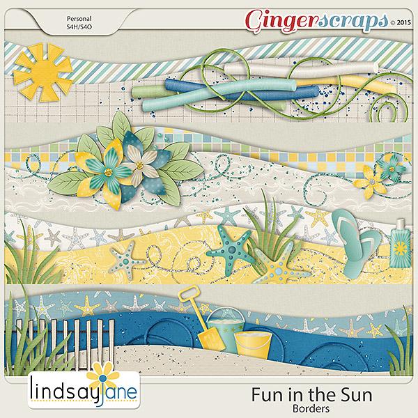 Fun In The Sun Borders by Lindsay Jane