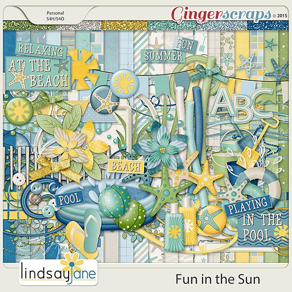 Fun In The Sun by Lindsay Jane