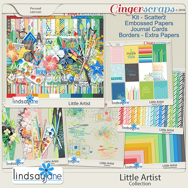 Little Artist Collection by Lindsay Jane