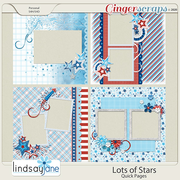 Lots of Stars Quick Pages by Lindsay Jane