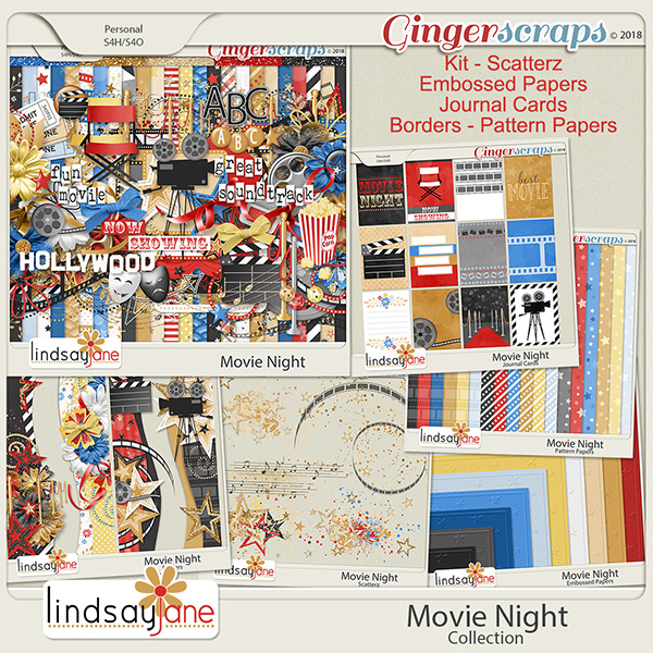 Movie Night Collection by Lindsay Jane