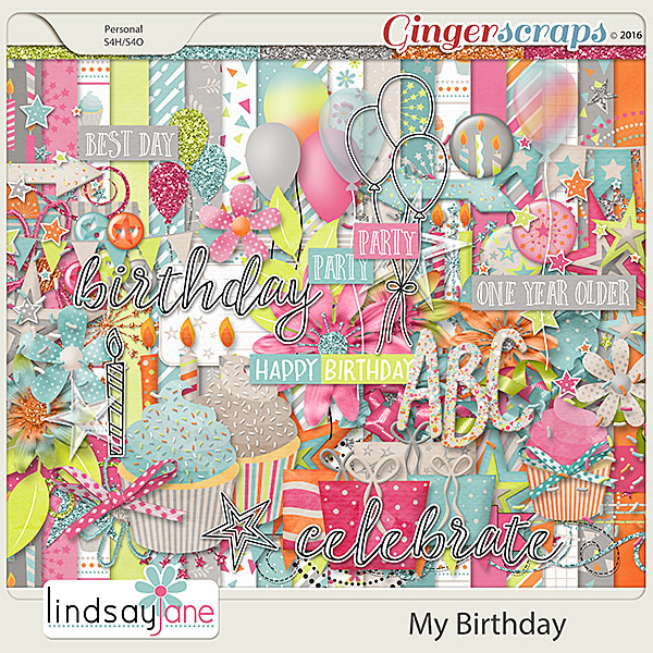 My Birthday by Lindsay Jane