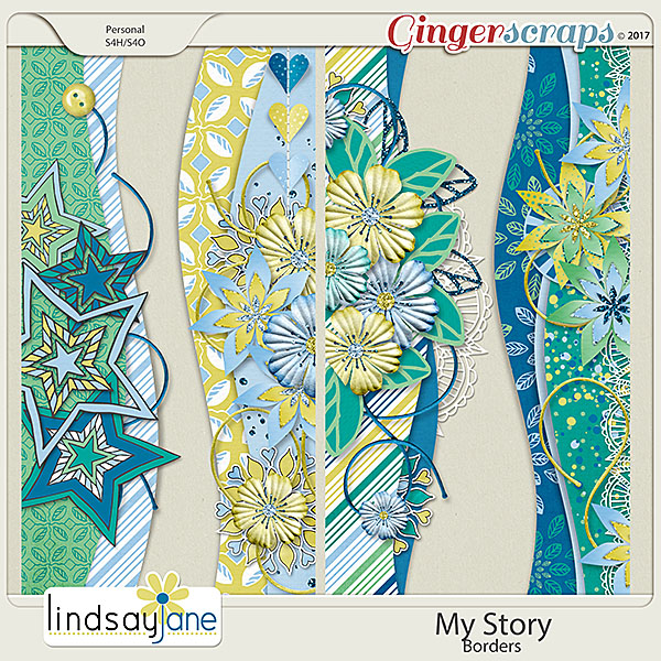 My Story Borders by Lindsay Jane