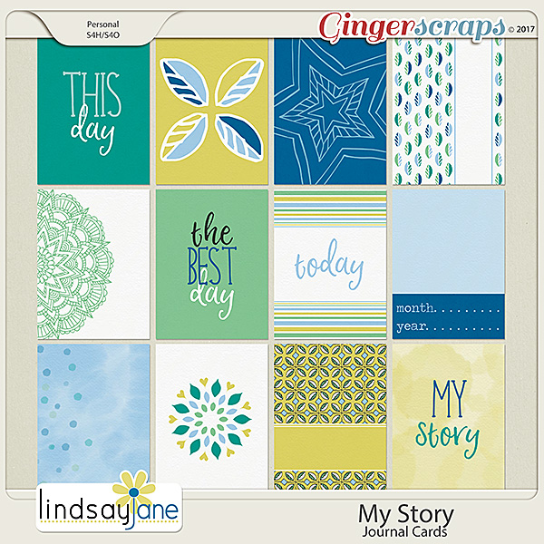 My Story Journal Cards by Lindsay Jane