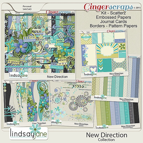 New Direction Collection by Lindsay Jane