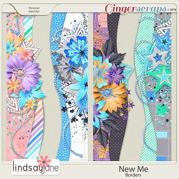 New Me Borders by Lindsay Jane