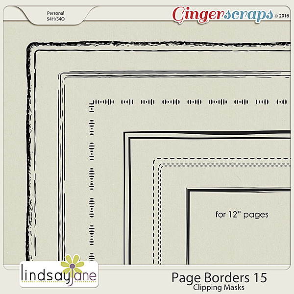 Page Borders 15 by Lindsay Jane