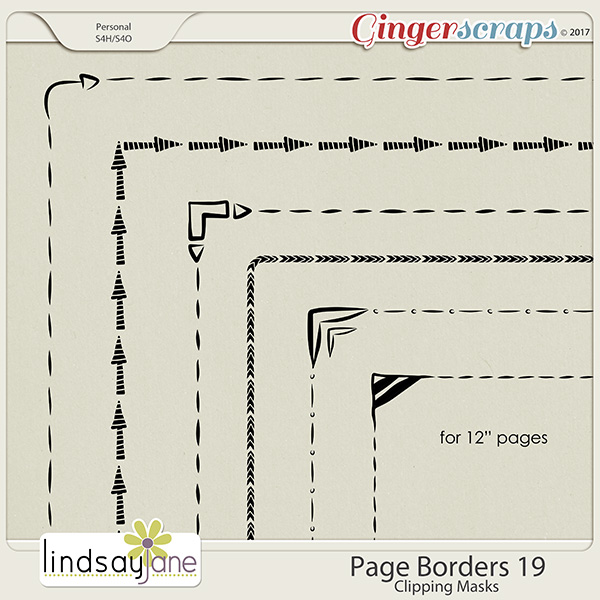 Page Borders 19 by Lindsay Jane