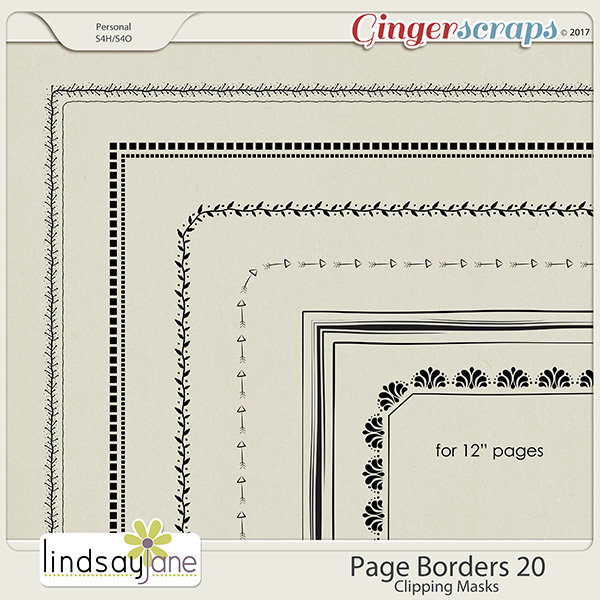 Page Borders 20 by Lindsay Jane