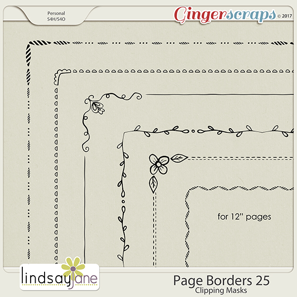 Page Borders 25 by Lindsay Jane