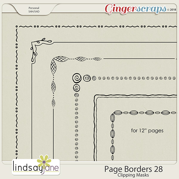 Page Borders 28 by Lindsay Jane