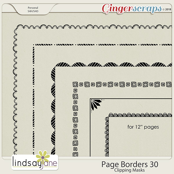 Page Borders 30 by Lindsay Jane