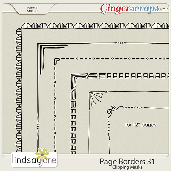 Page Borders 31 by Lindsay Jane