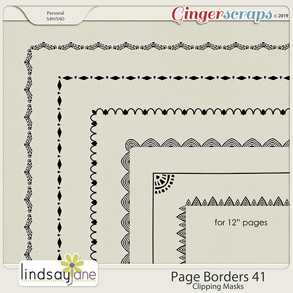 Page Borders 41 by Lindsay Jane