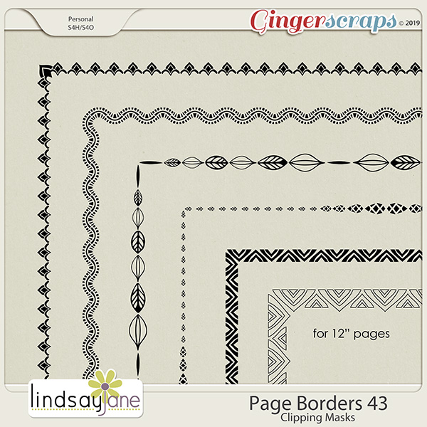 Page Borders 43 by Lindsay Jane
