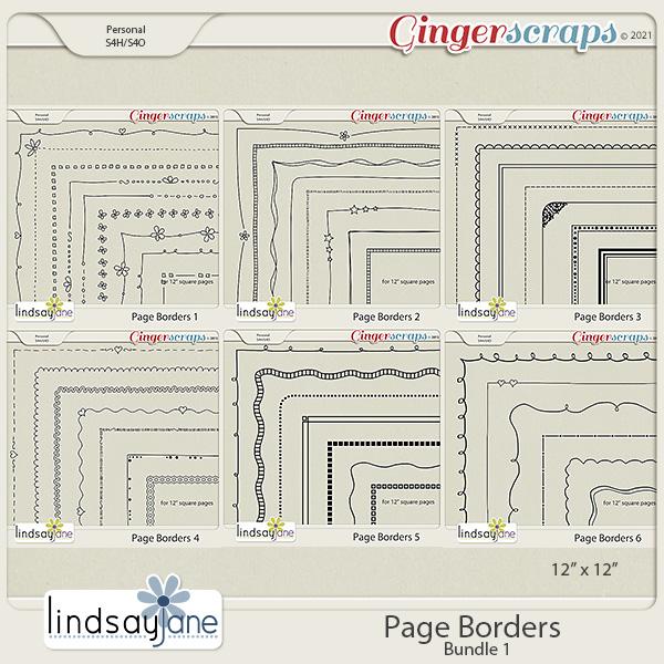 Page Borders Bundle 1 by Lindsay Jane