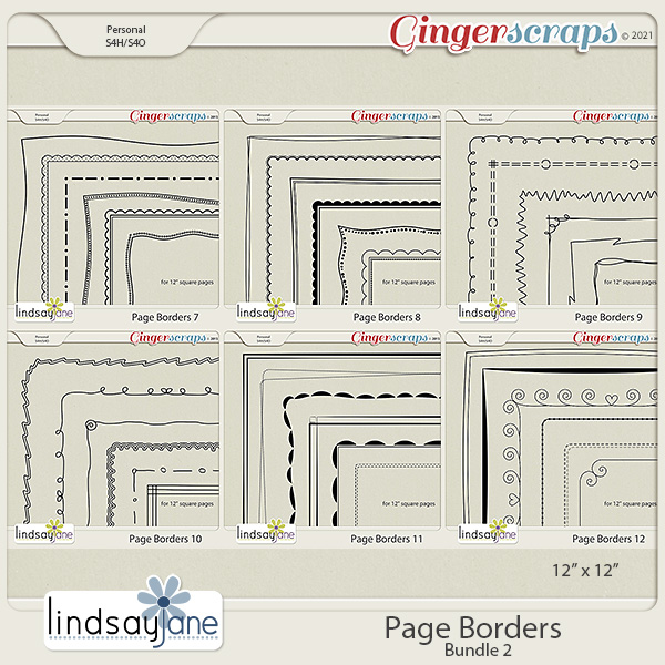 Page Borders Bundle 2 by Lindsay Jane