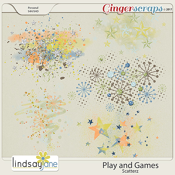 Play and Games Scatterz by Lindsay Jane