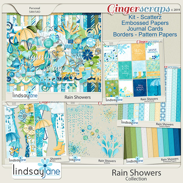 Rain Showers Collection by Lindsay Jane