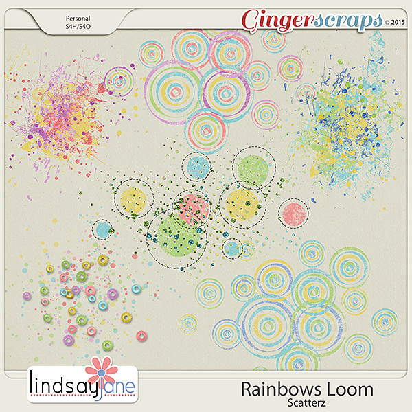 Rainbows Loom Scatterz by Lindsay Jane