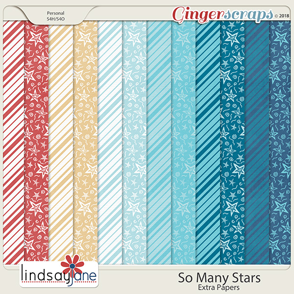 So Many Stars Extra Papers by Lindsay Jane