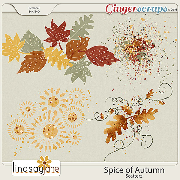 Spice of Autumn Scatterz by Lindsay Jane