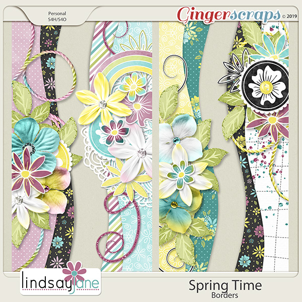 Spring Time Borders by Lindsay Jane