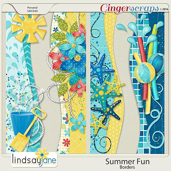 Summer Fun Borders by Lindsay Jane