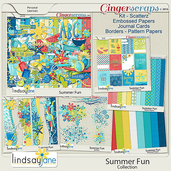 Summer Fun Collection by Lindsay Jane