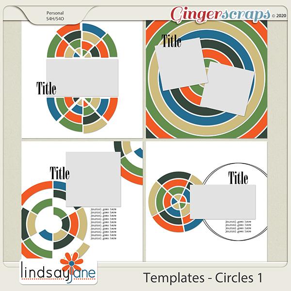 Templates - Circles 1 by Lindsay Jane