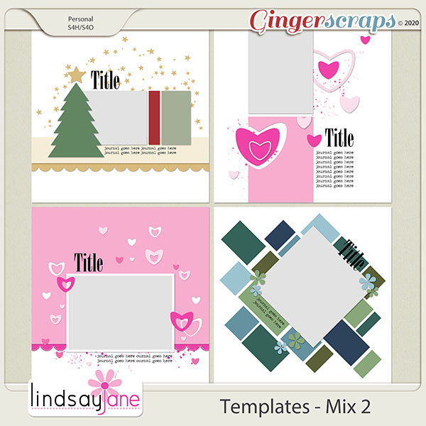Templates - Mix 2 by Lindsay Jane