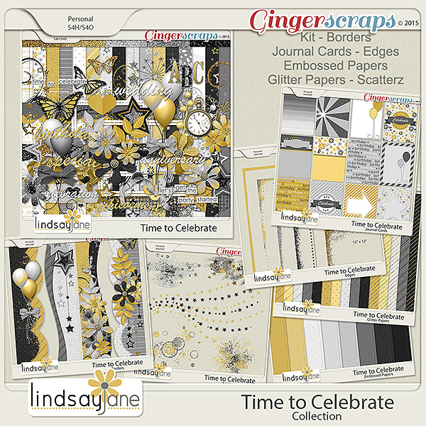 Time to Celebrate Collection by Lindsay Jane