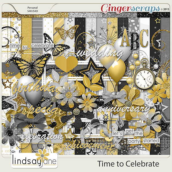 Time to Celebrate by Lindsay Jane