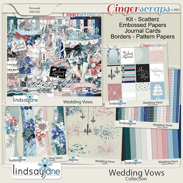 Wedding Vows Collection by Lindsay Jane