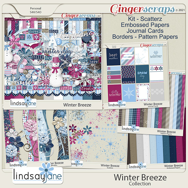 Winter Breeze Collection by Lindsay Jane