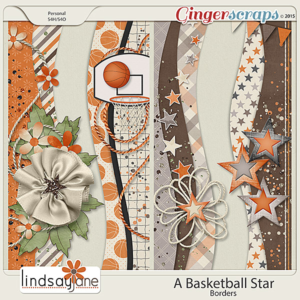 A Basketball Star Borders by Lindsay Jane