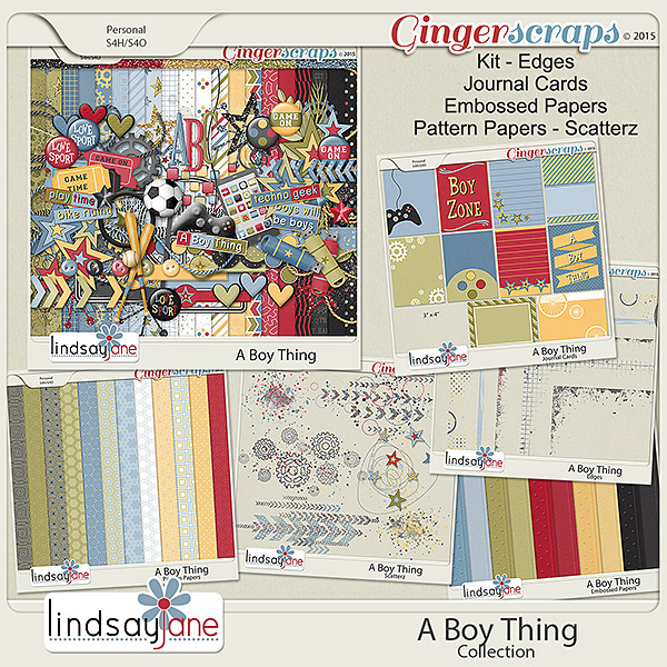 A Boy Thing Collection by Lindsay Jane