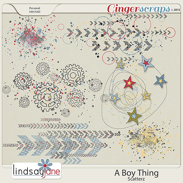 A Boy Thing Scatterz by Lindsay Jane